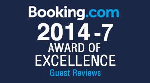 Premio di eccellenza booking.com